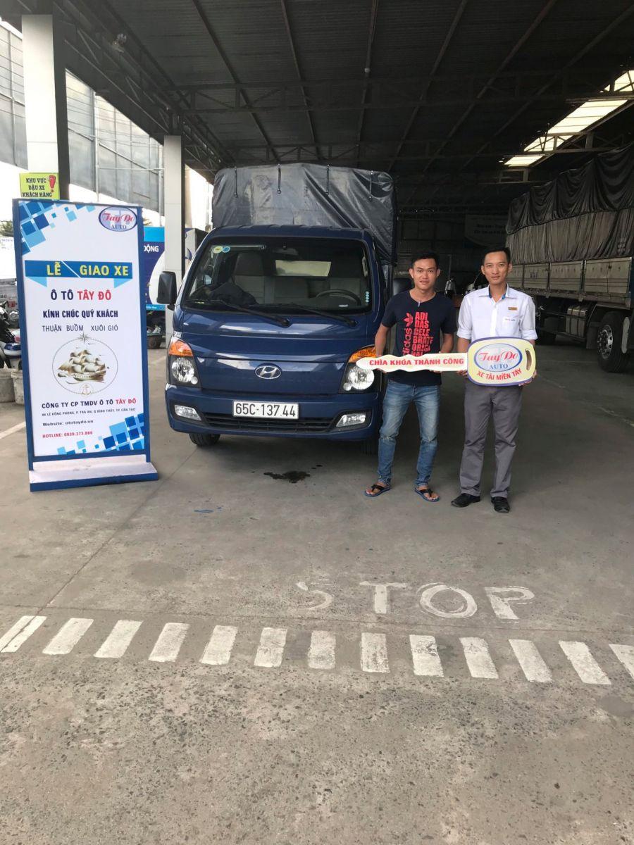 Anh Nam ở Vĩnh Long đã quyết định chọn mua xe tải Hyundai tại Đại Lý Hyundai Miền Nam.